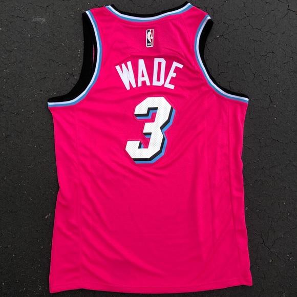 7f5999118a7 Nike Shirts   Dwayne Wade Miami Heat Jersey 3 Nwt Mens All Siz ...